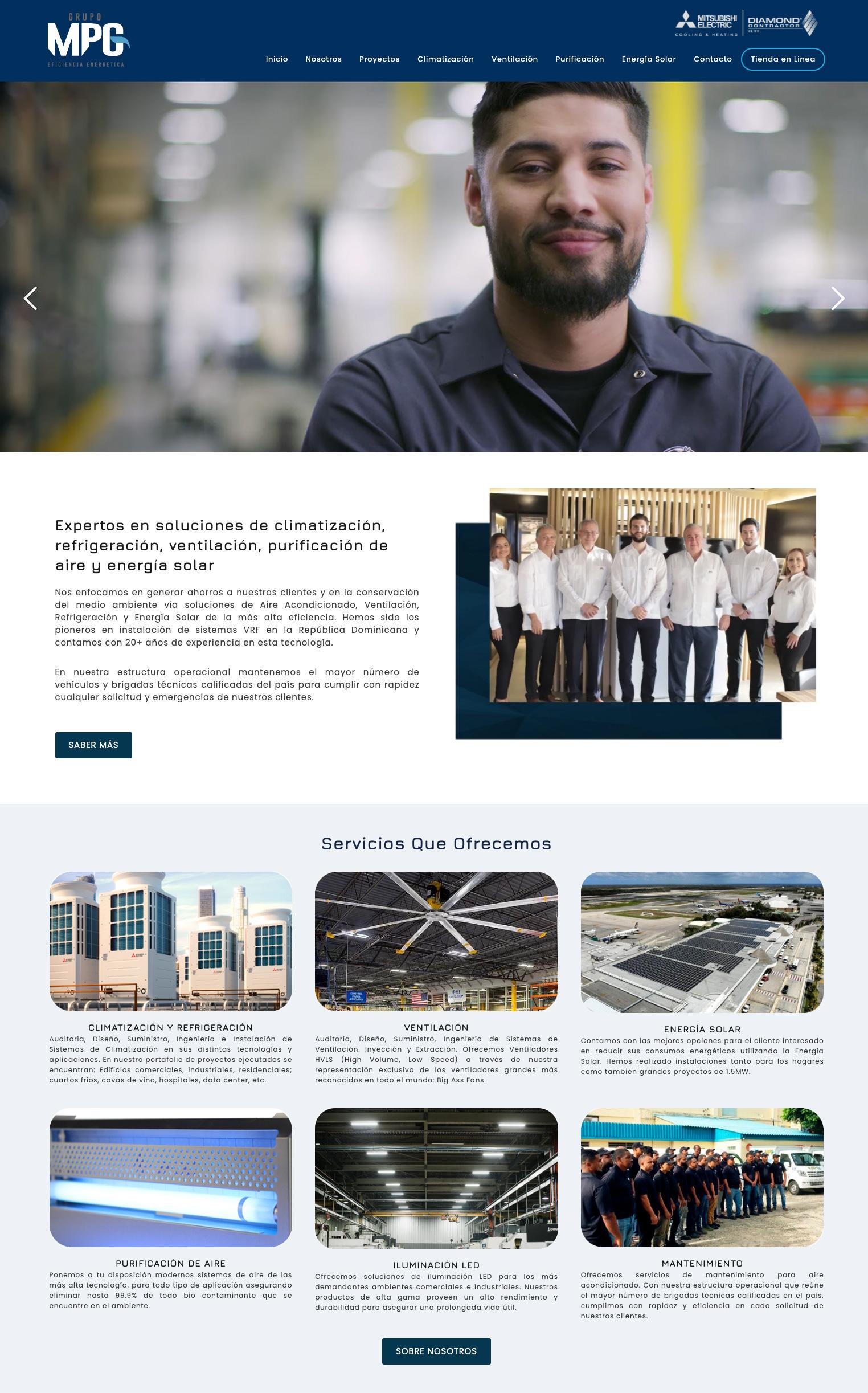 Pagina web MPG1