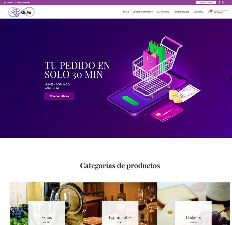 E-commerce-Vinos-y-Espumantes-Desarrollo-Web-En-Santo-Domingo