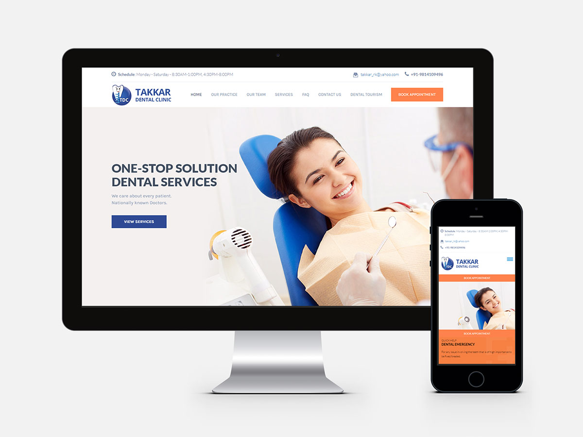 DentalClinic_Website