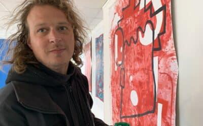 Merijn Kavelaars, paintings and installations
