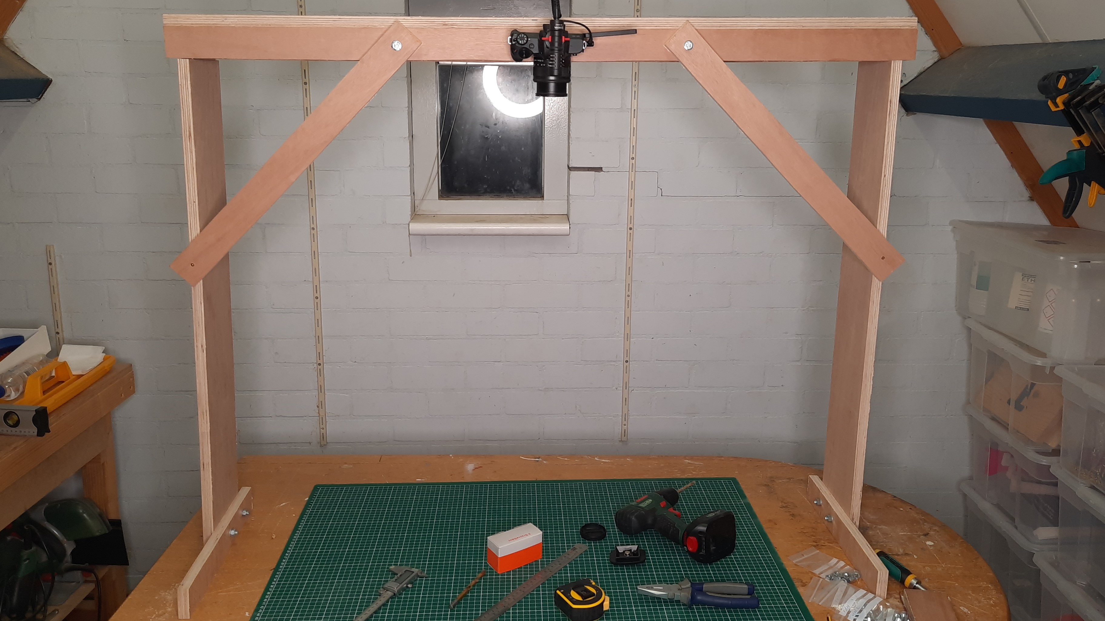 Overhead Camera Rig Build