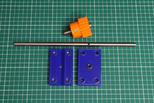 Improving the shaft drilling jig