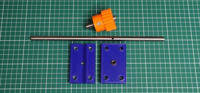 Improving the shaft drilling jig