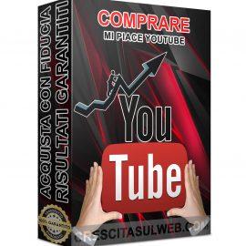 Acquistare Mi piace YouTube