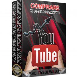 Acquistare Mi piace ai Commenti YouTube