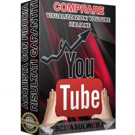 Acquistare Visualizzazioni YouTube Italiane