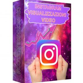 Acquistare Visualizzazioni Video Instagram