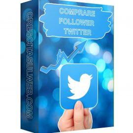 Acquistare Follower Twitter