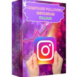 Acquistare Follower Instagram Italiani