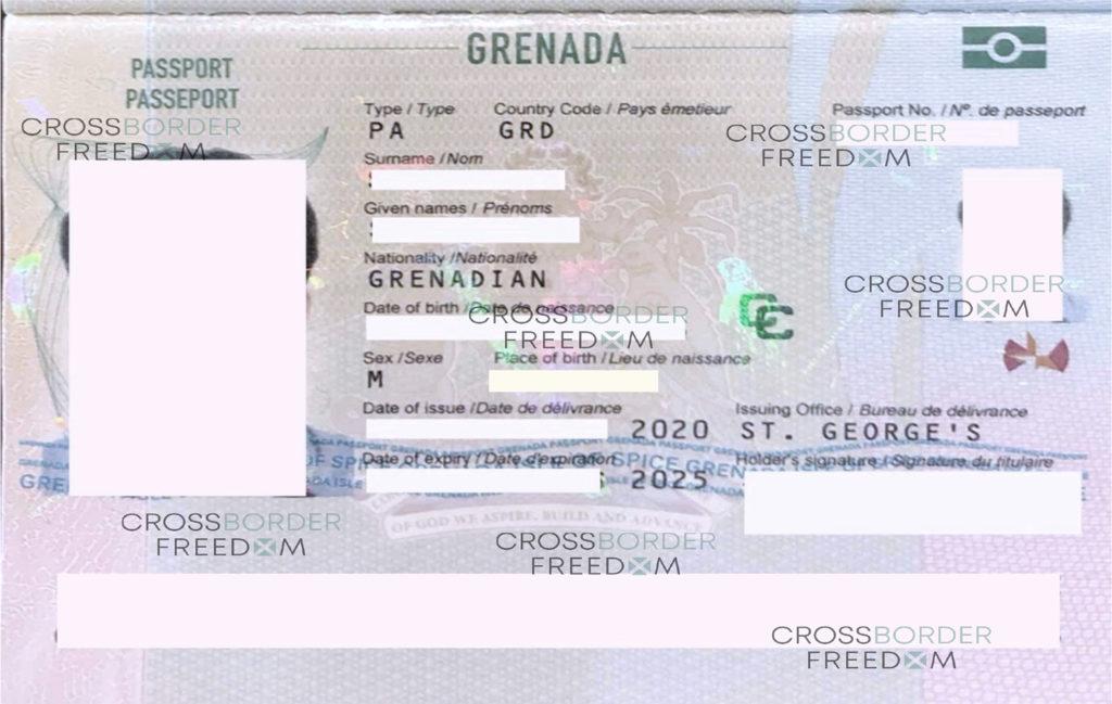 پاسپورت گرانادا از طریق سرمایه گذاری