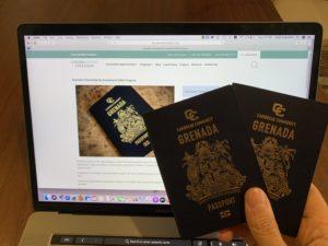 دریافت شهروندی گرانادا
