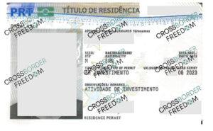 کارت اقامت پرتغال صادر شده