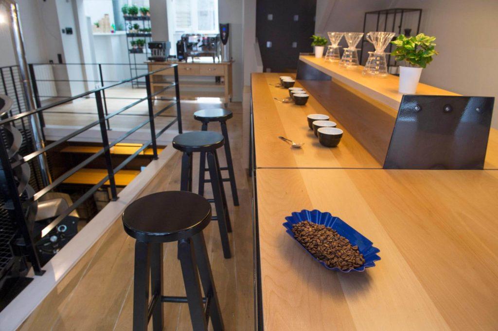 Opleidingscentrum Cross Roast koffiebranderij