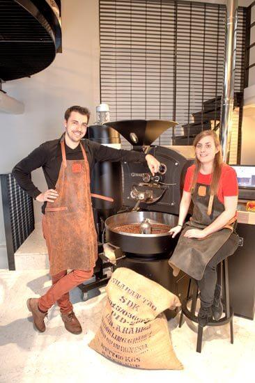 Tom En Isabelle Koffiebranderij