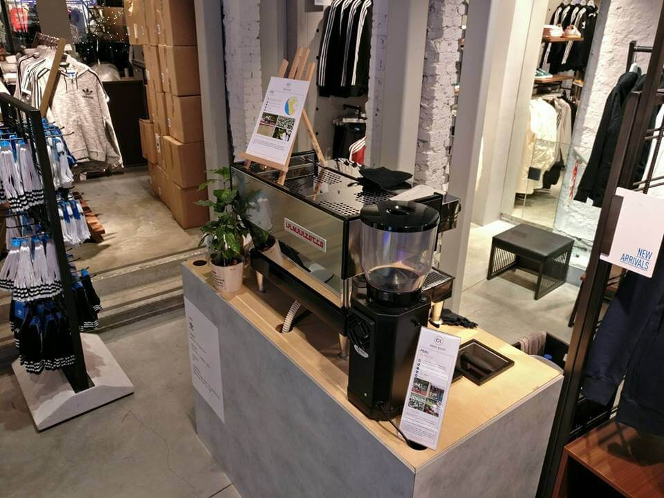 Mobiele Koffiebar Bij Adidas