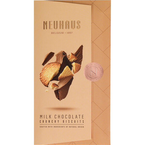 Neuhaus Tablet Melk chocolade Crunchy Biscuits