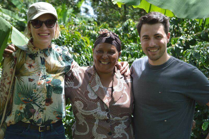 Tom en Eileen naar Kenya gereisd