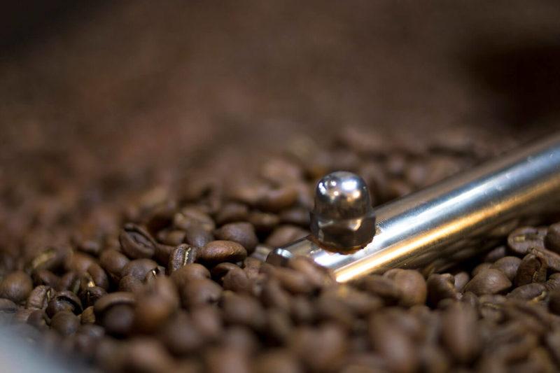 Koffie Bonen Branden
