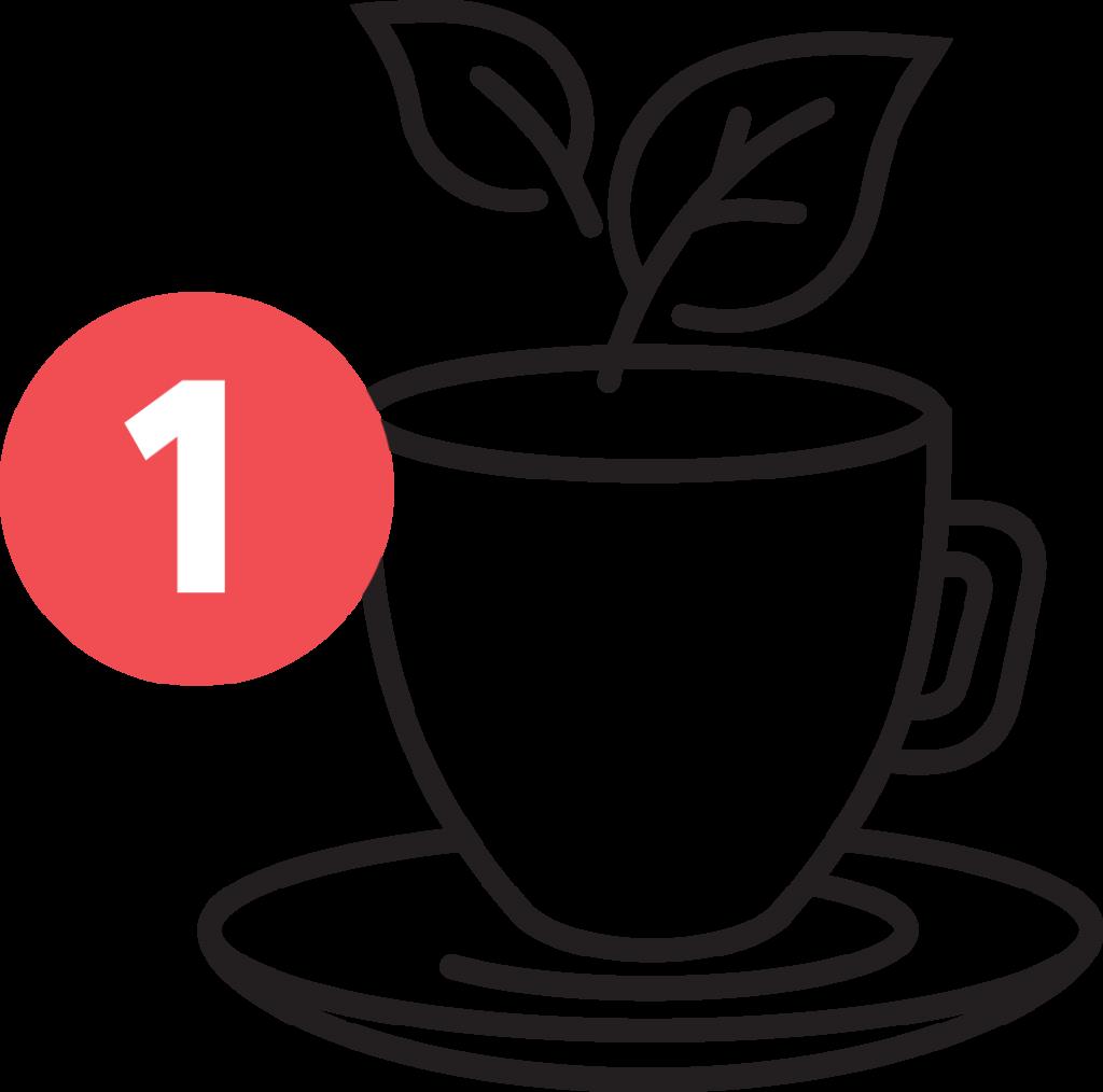 Songbird Tea Company - Stap 1 Hibiscus