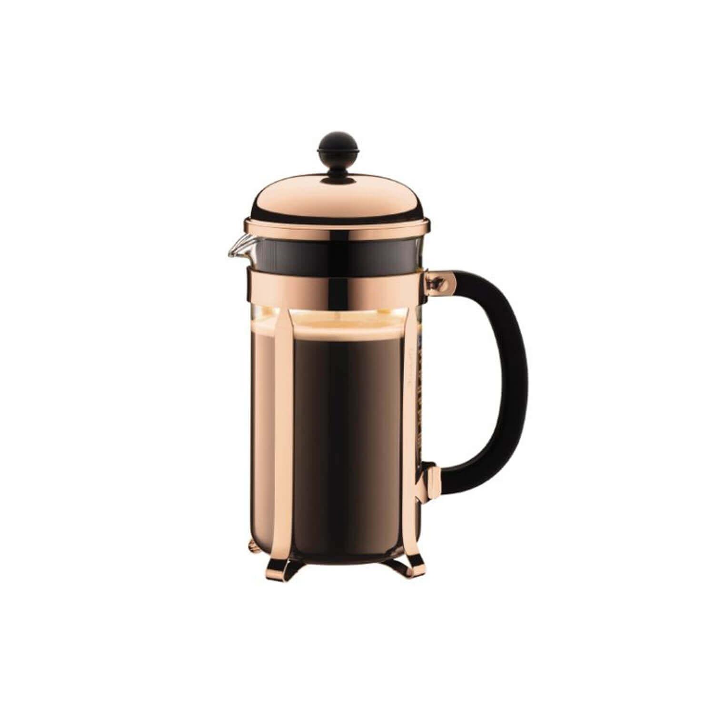 Bodum - Cafetière - Chambord - Copper - 8 Cups - 1 l