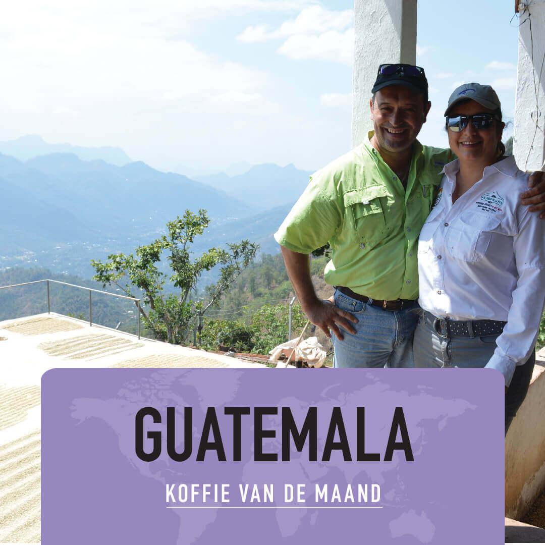 Guatemala - El Penon - koffie van de maand juli