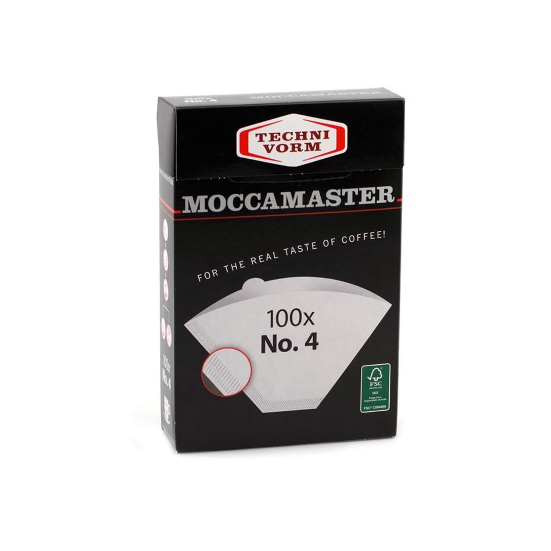 Moccamaster - Filterzakjes - Nr.4 - 100 st