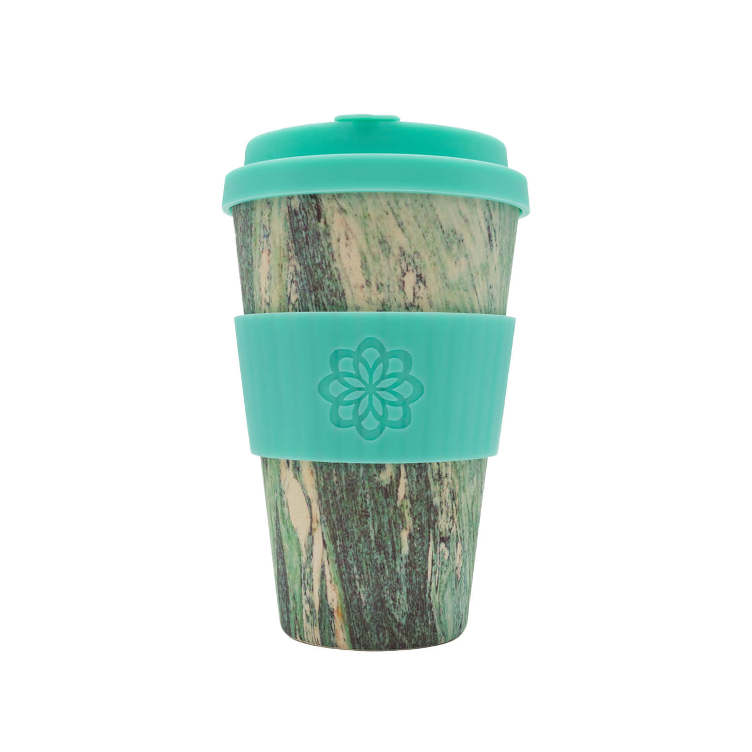 Ecoffee cup - Marmo verde - 400 ml