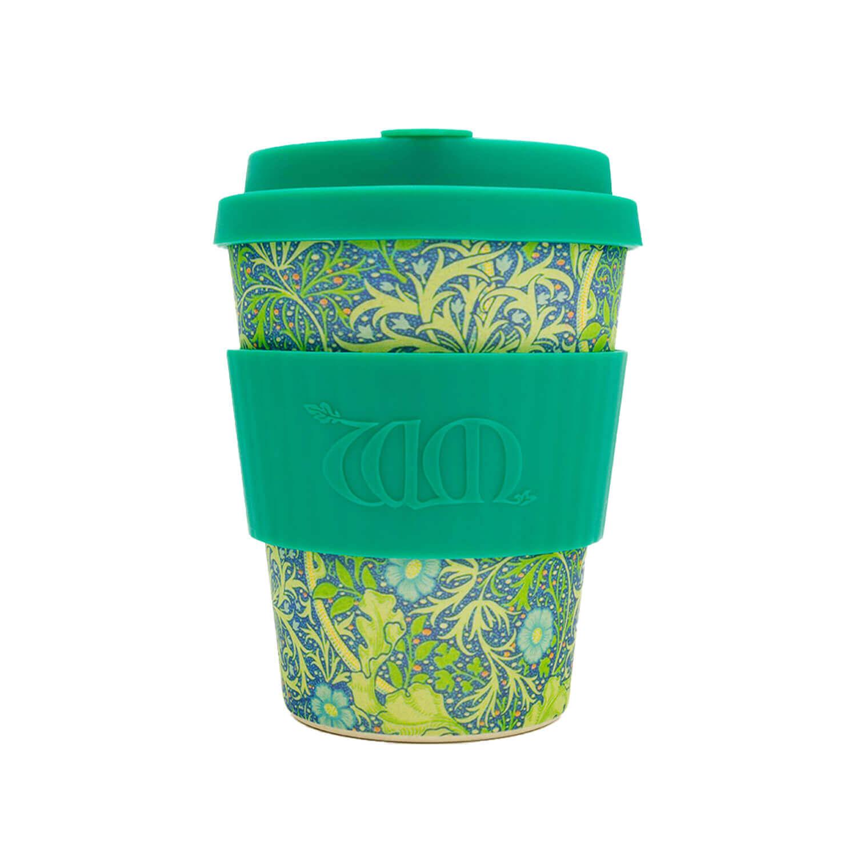 Ecoffee cup - Seaweed marine - 340 ml