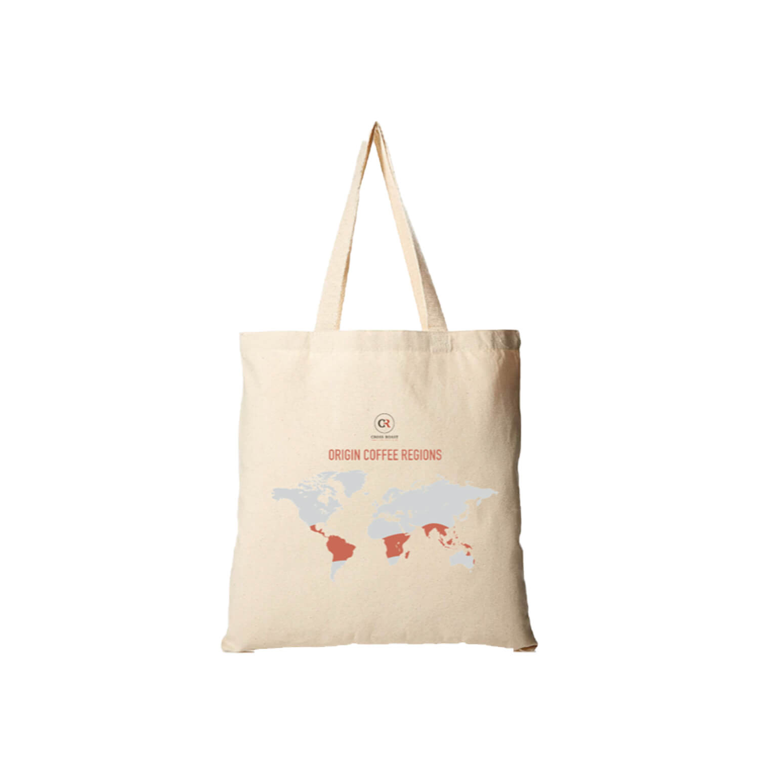 Cross Roast - Totebag - 340g - Wereldkaart