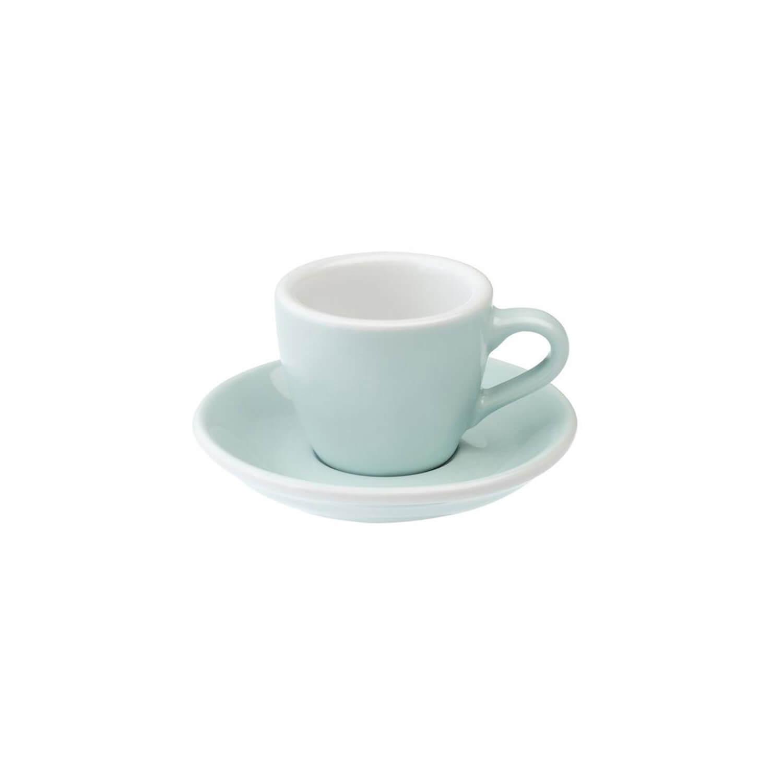 Loveramics - Egg - Espresso Cup - River Blue
