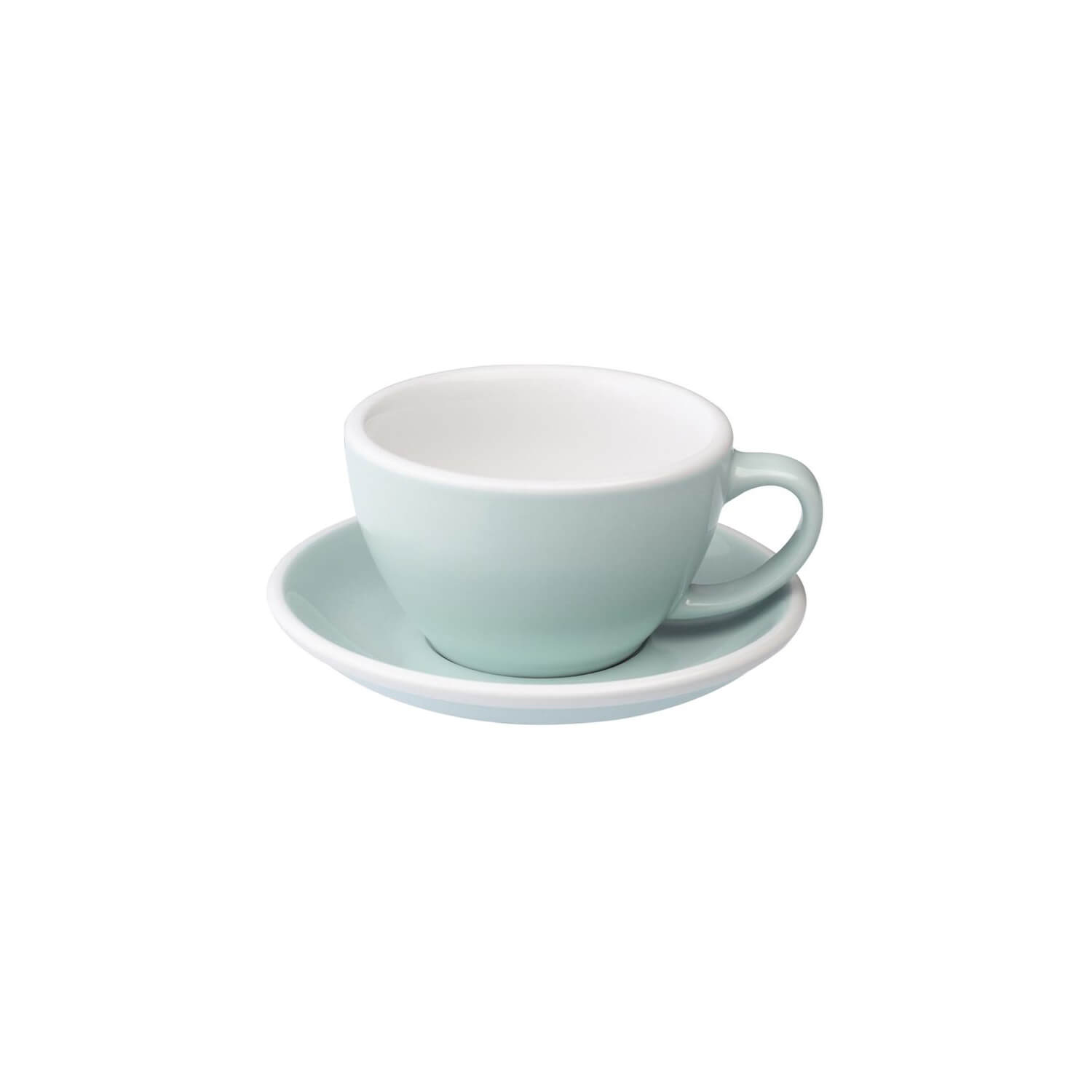 Loveramics - Egg - Latte Cup - River Blue