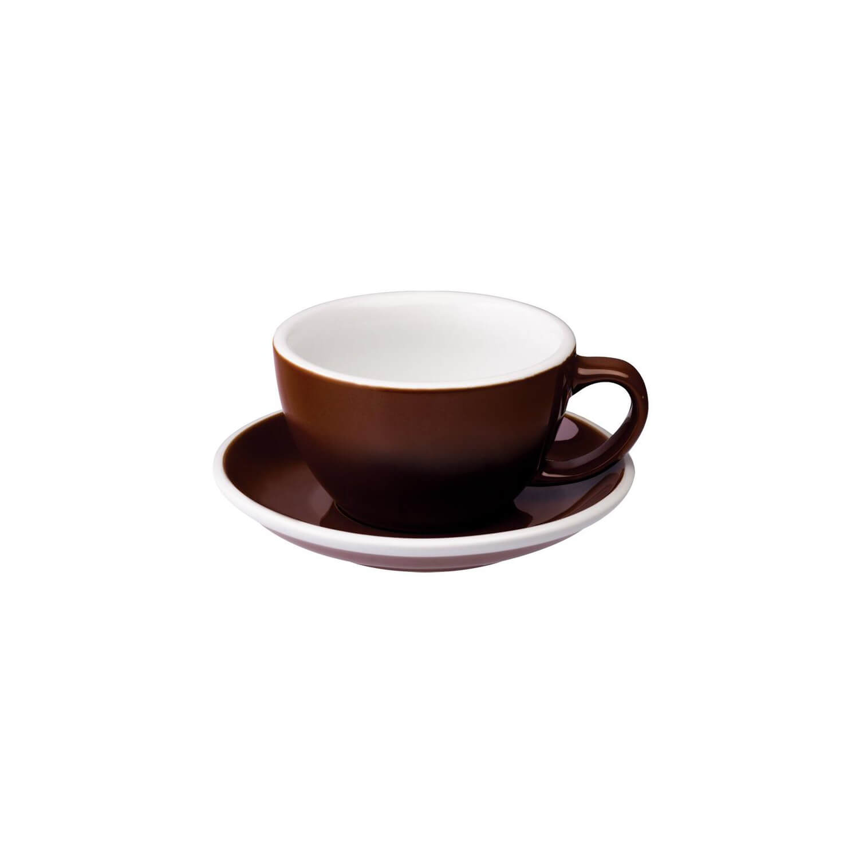 Loveramics - Egg - Latte Cup - Bruin