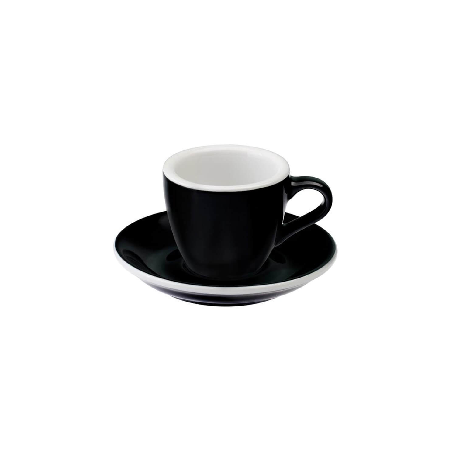 Loveramics - Egg - Espresso cup - black