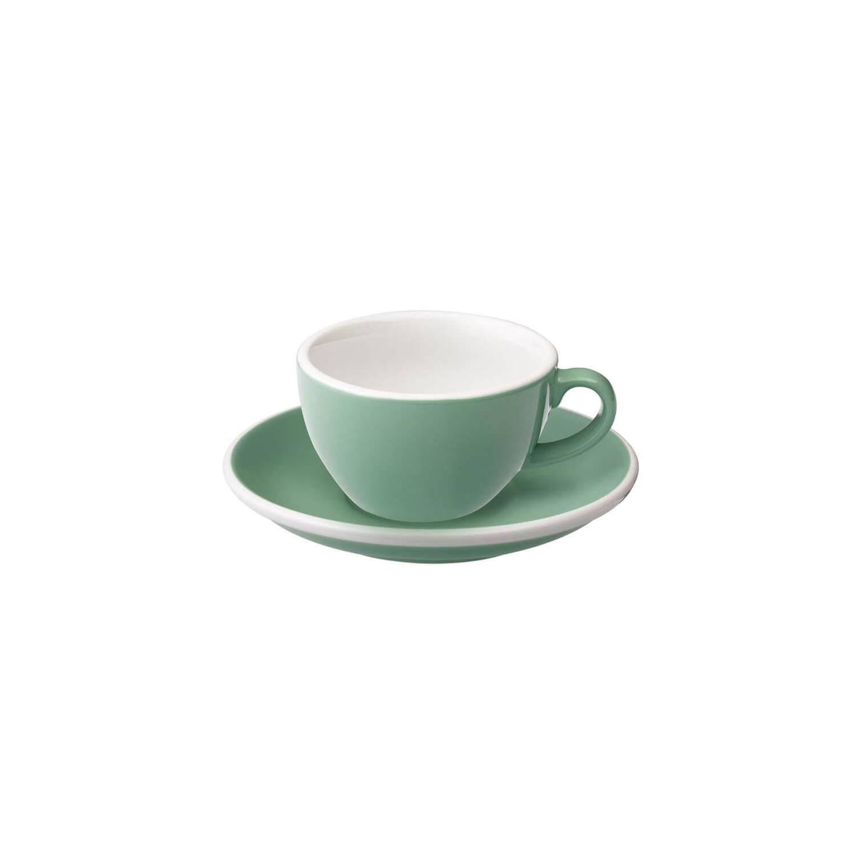 Loveramics - Egg - Flat White Cup - Munt