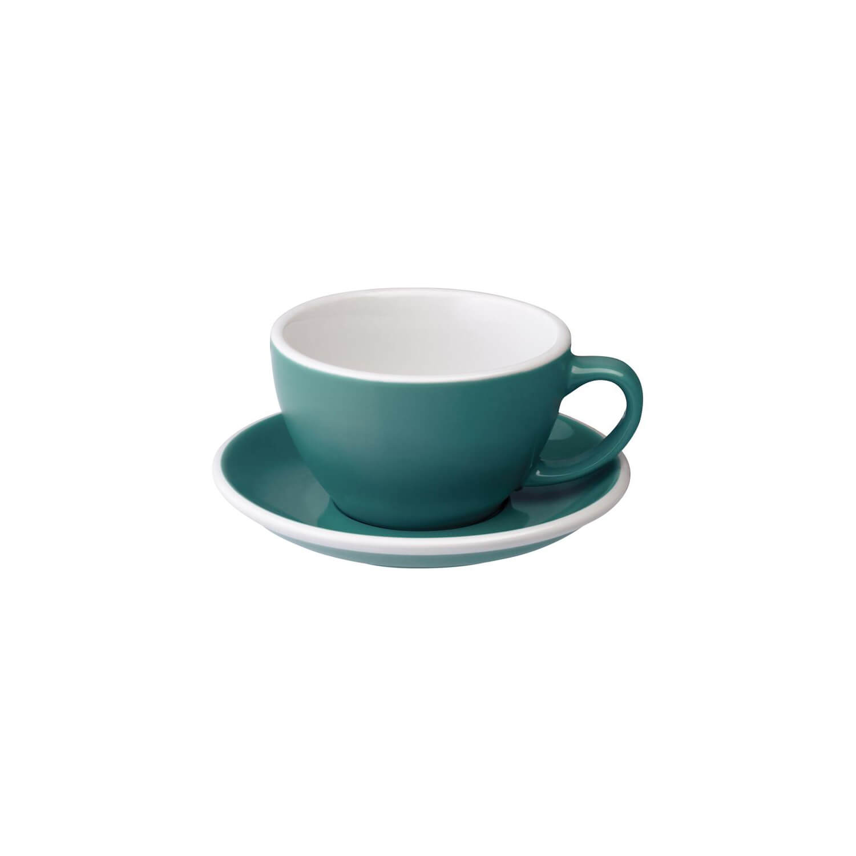 Loveramics - Egg - Latte Cup - Teal