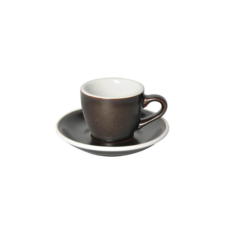 Loveramics - Egg - Espresso Cup - Gunpowder