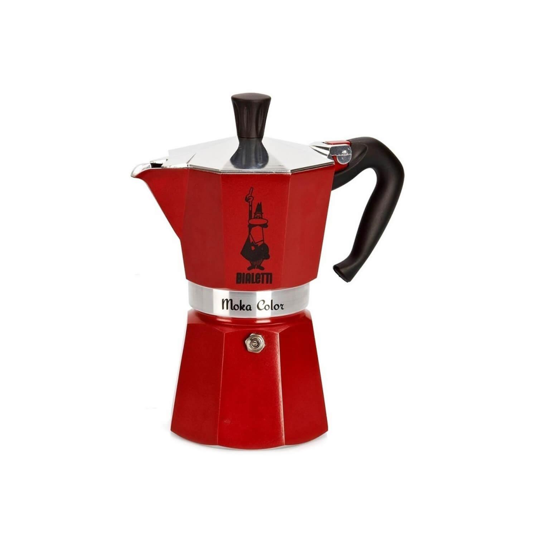 Bialetti – Moka Express – Red – 6 Cups
