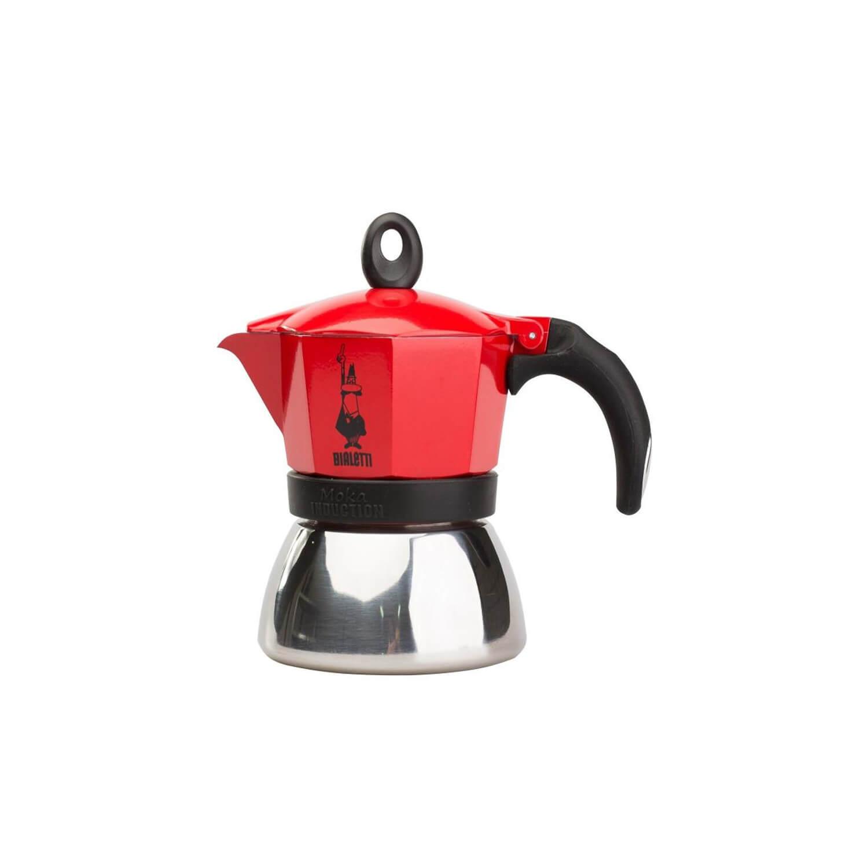 Bialetti – Moka Inductie – Red – 3 Cups