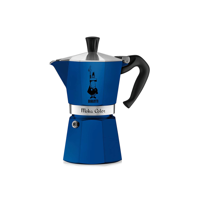 Bialetti – Moka Express – Blauw – 3 Cups