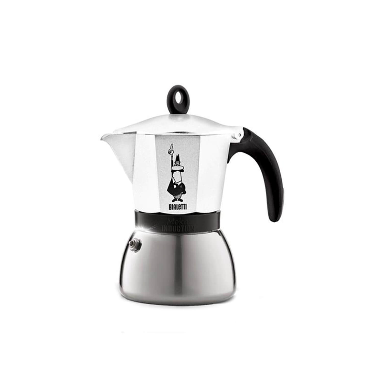 Bialetti – Moka Inductie – White – 6 Cups