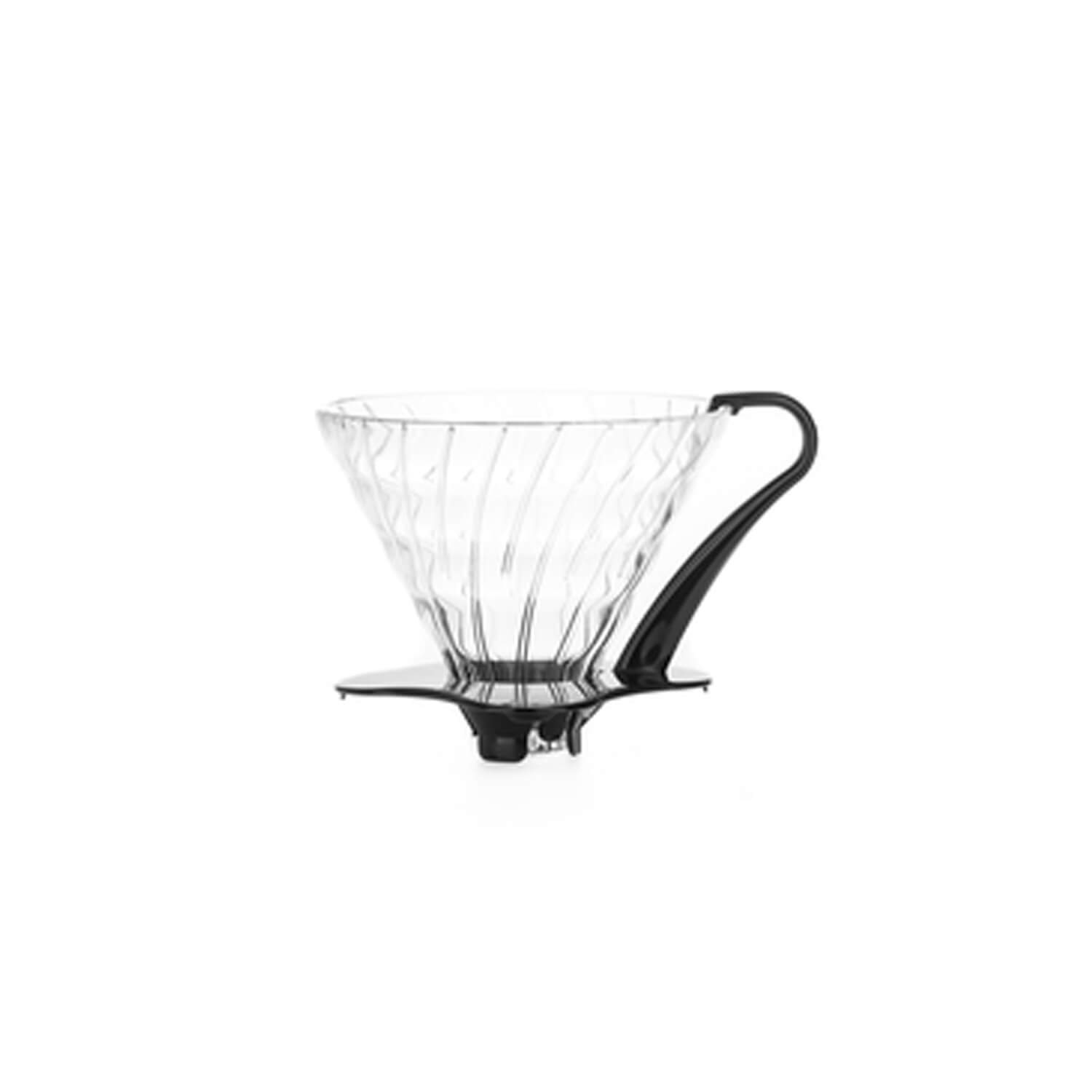 Hario - Dripper V60 - 03 -  Glass Black