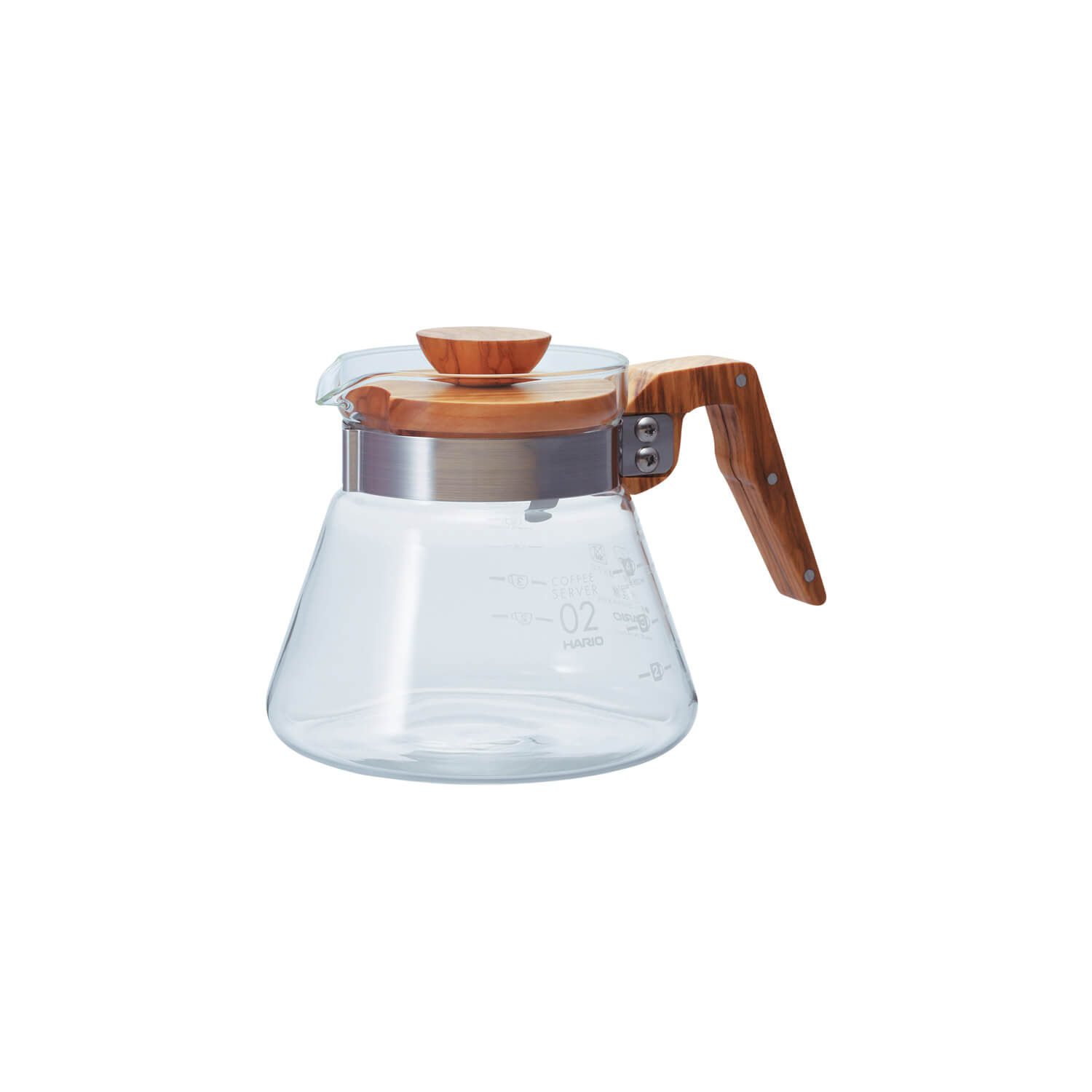 Hario - Coffee Server - Olive Wood - 600ml
