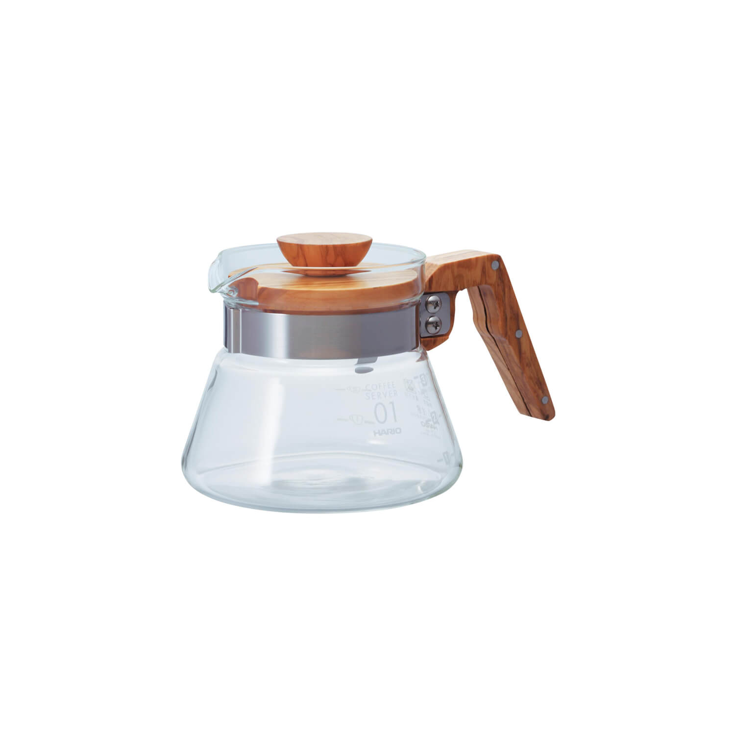 Hario - Coffee Server - Olive Wood - 400 ml