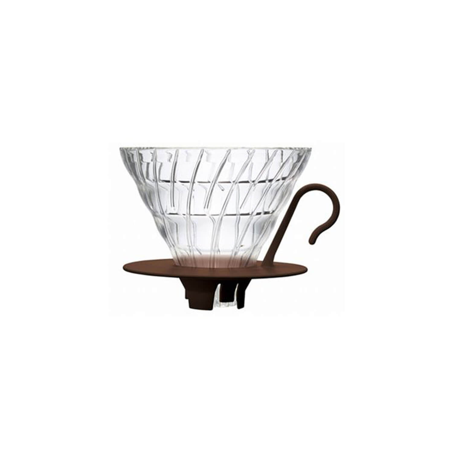 Hario - Dripper V60 - 02 - Glass brown
