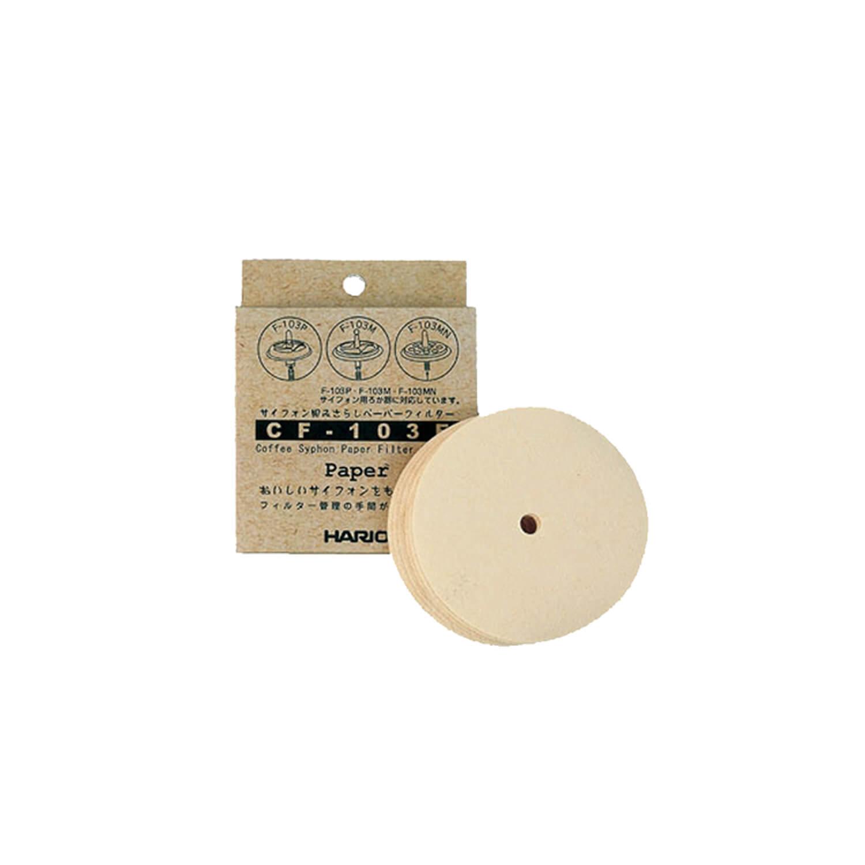 Hario - Syphon - Filterpapier - 100 stuks