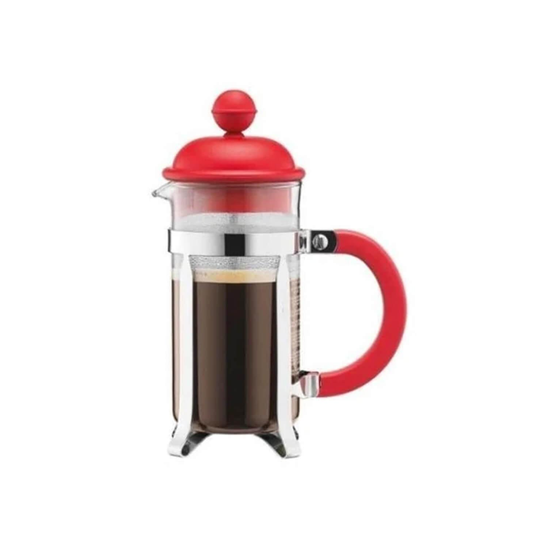 Bodum - Cafetière - Rood - 3 Cups