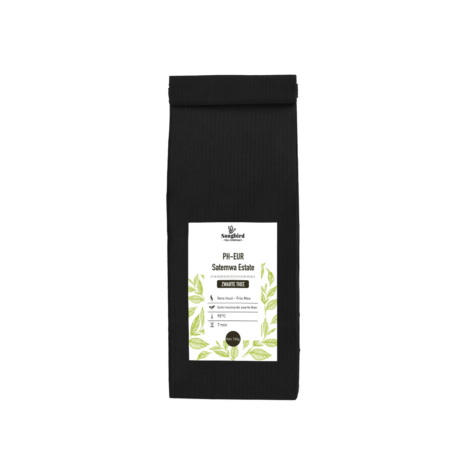 Zwarte thee - Dark Teas Ph-Eur - 100 gr
