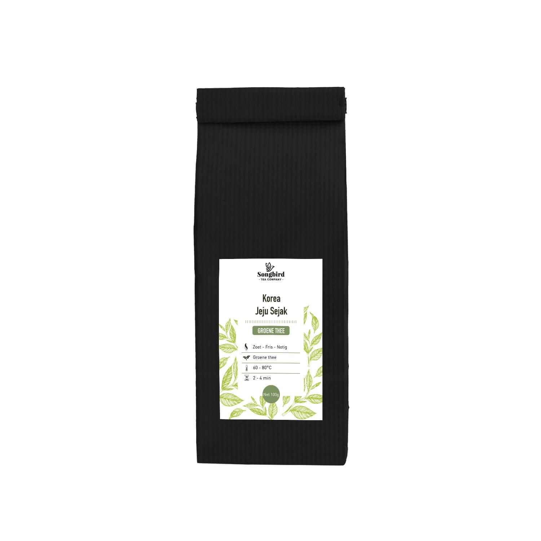 Groene thee - Korea Jeju Organic - 100 gr
