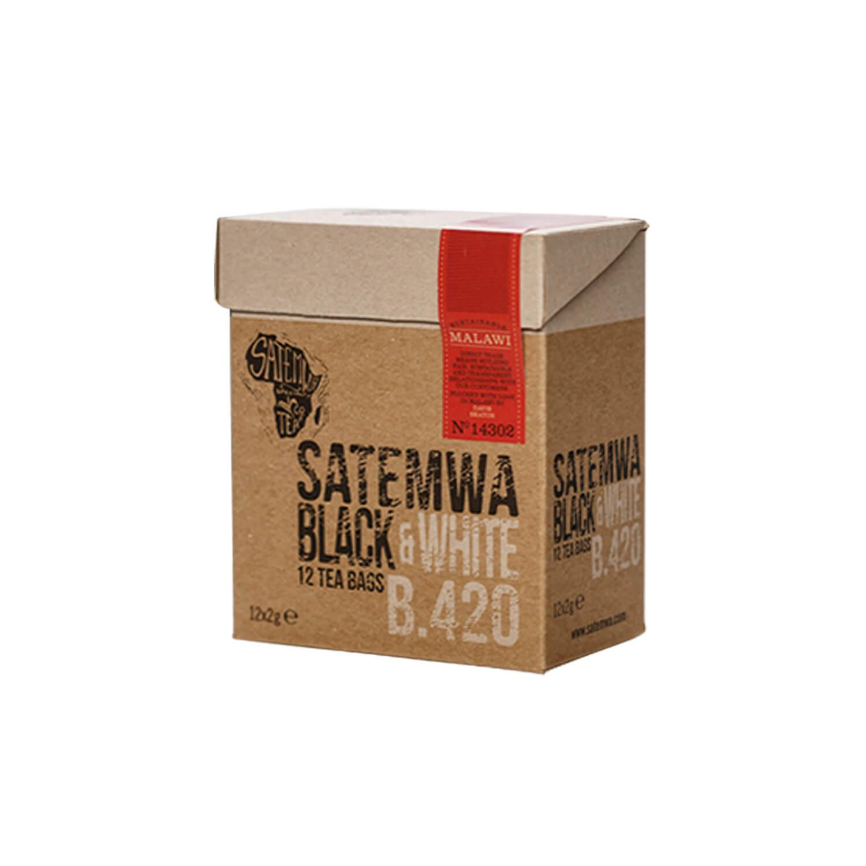 Theebuiltjes - Satemwa - Black & White - 12 st