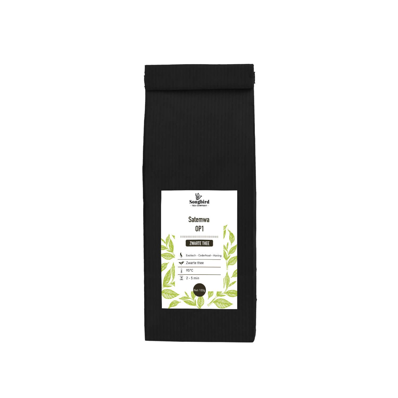 Zwarte thee - Satemwa OP1 - 100 gr